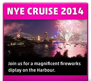 new years eve fireworks cruise on sydney harbour